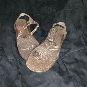 Brown chacos